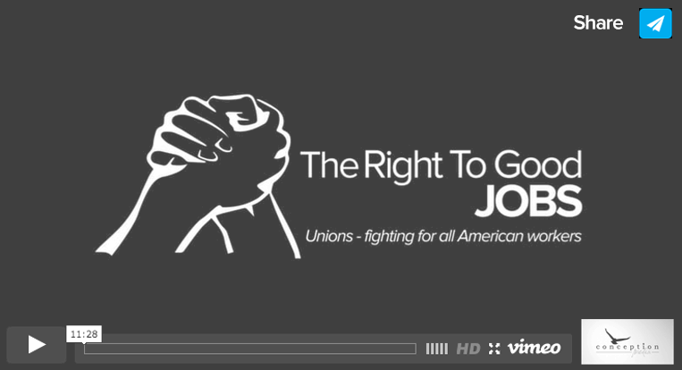 The Right to Good Jobs video